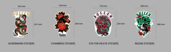Sullen Sticker Pack