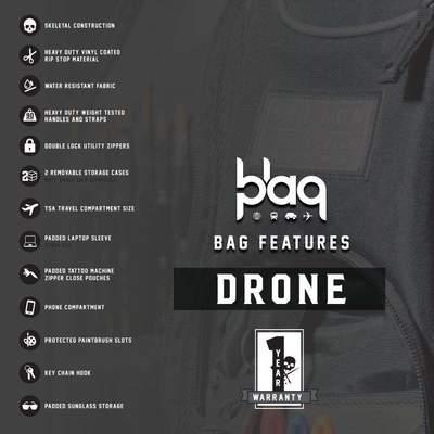 BLAQ PAQ DRONE GLOBE EDITION