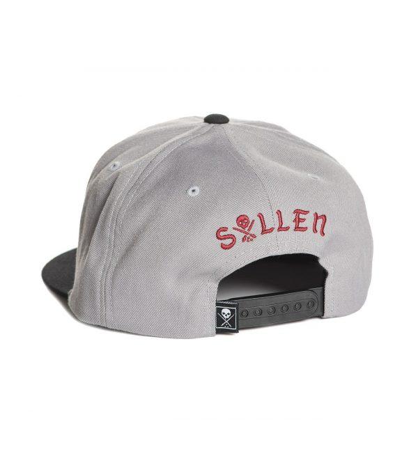 Urban Assault Snapback Cap - Grey
