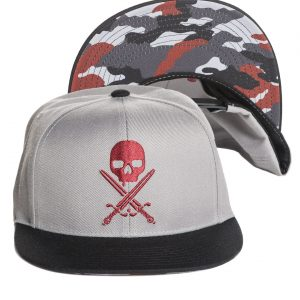 Urban Assault Snapback Cap - Grey