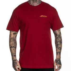 BLAQ SUNSHINE RED STANDARD TEE