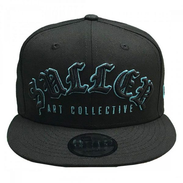 RED SCALES SNAPBACK - BLACK/TEAL
