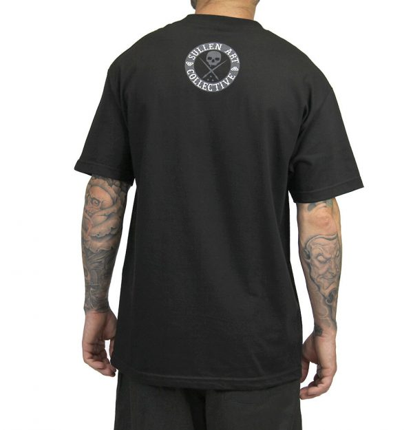 All Day Badge Mens Tee - Black