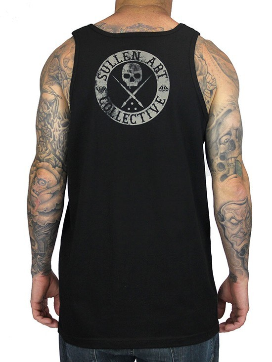 Badge of Honor Mens Tank - Black