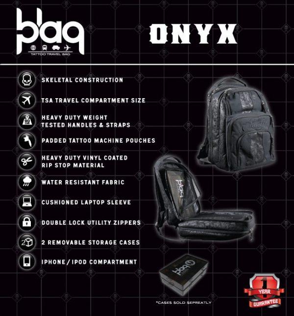 Blaq Paq Backpack - Onyx