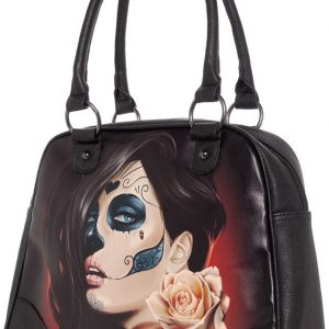 Muerta Rose Womens Handbag