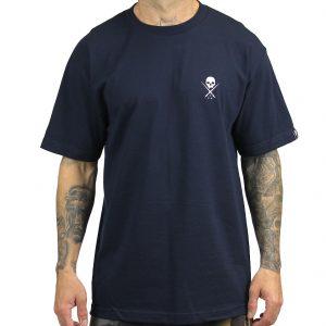 Standard Issue Mens Tee - Navy/White