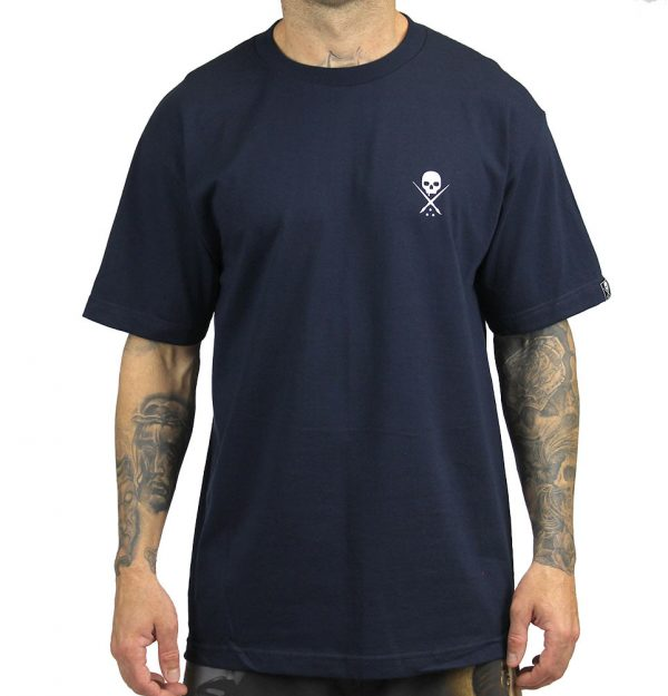 Standard Issue Mens Tee - Navy/White