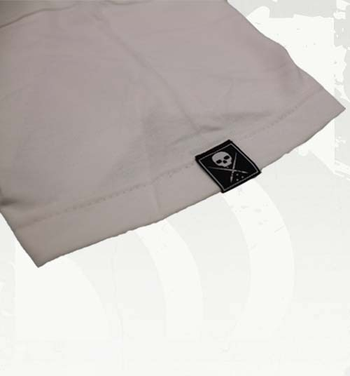 Standard Issue Mens Tee - White/Black