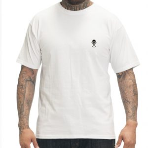 Standard Issue Mens Tee - White/Black